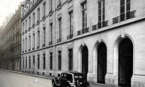 Du 27 rue Saint-Guillaume, à la place Saint-Thomas d'Aquin, en passant par le 13 rue de l'Université, le 9 rue de la Chaise, le 56 et le 28 rue des Saints-Pères, Sciences Po continue son expansion au coeur du quartier de Saint-Germain-des-Prés   Photo : DR