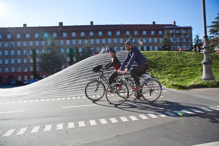La ville de Copenhague compte 435 km de pistes cyclables (DR)