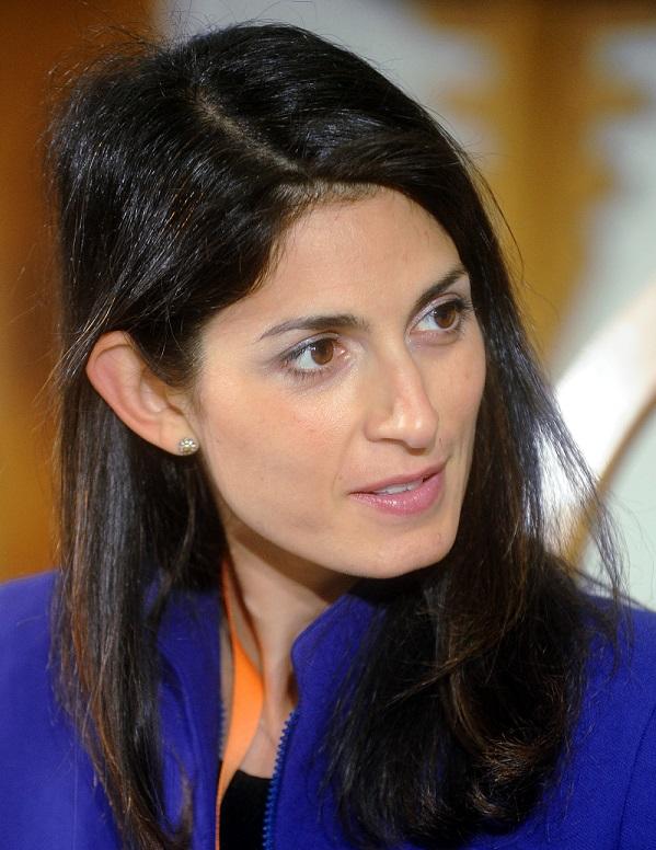 La maire de Rome Virginia Raggi (crédit : CC)