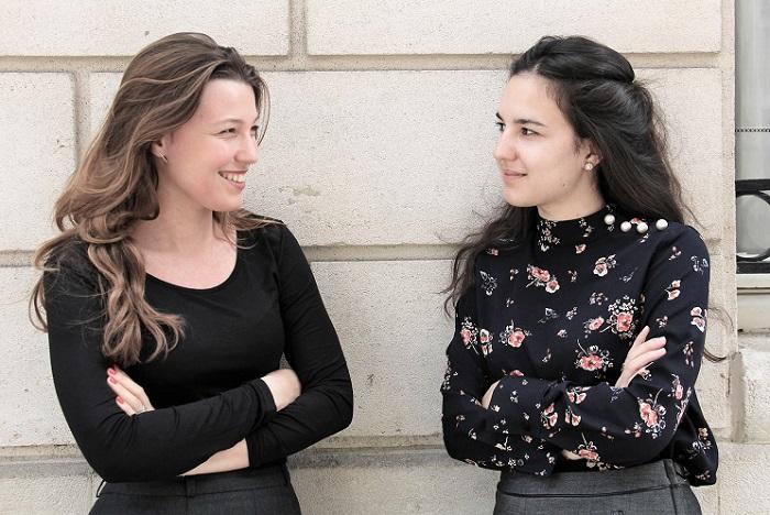 Salomé Berlioux (gauche) et Gabrielle Légeret (droite) - crédit : MM/Emile magazine