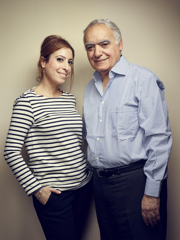 Léa et Ghassan Salamé (crédits : Manuel Braun)