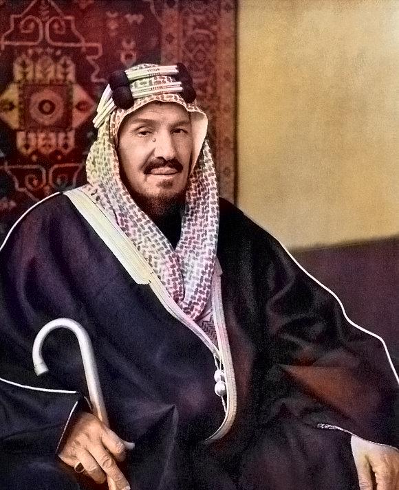Abdelaziz ben Abderrahmane Al Saoud (1876-1953), fondateur de l'État saoudien.