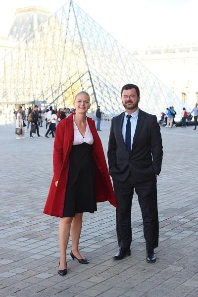 Charline Avenel et Benoit de Saint Chamas. Crédits photo : Elisabetta Lamanuzzi