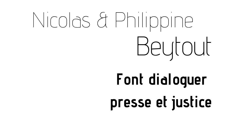 Nicolas et Philippine Beytout