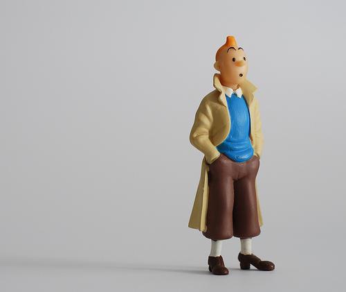 Tintin figurine