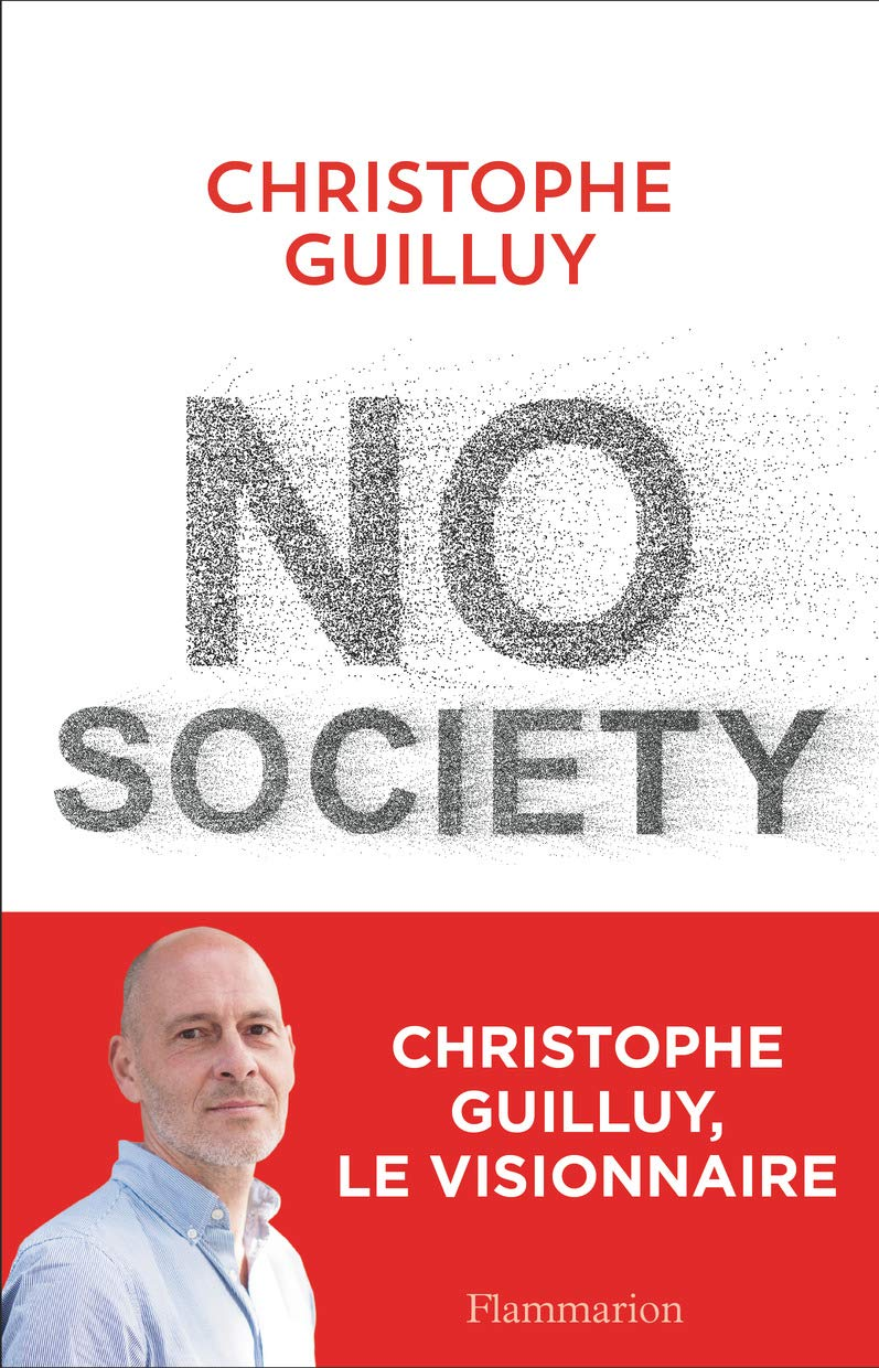 Couverture No society Guilluy
