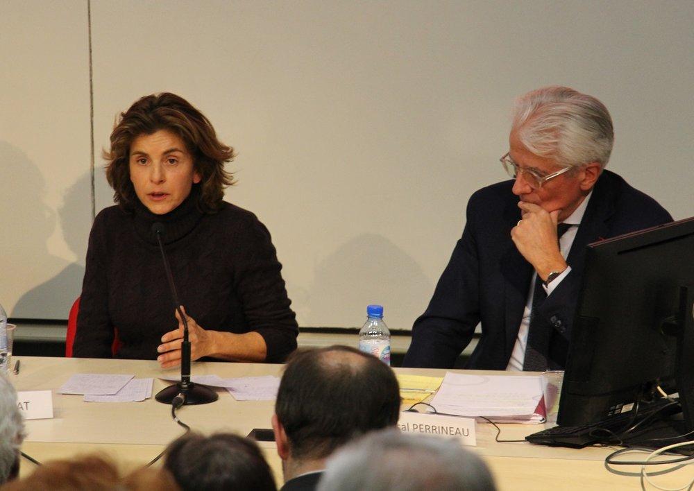Anne Nivat et Pascal Perrineau.