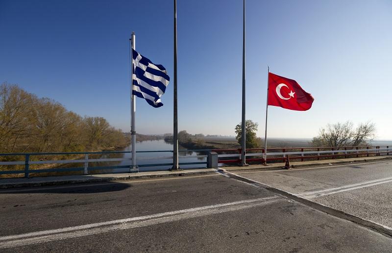 Frontière gréco-turque. Crédits photo : Shutterstock