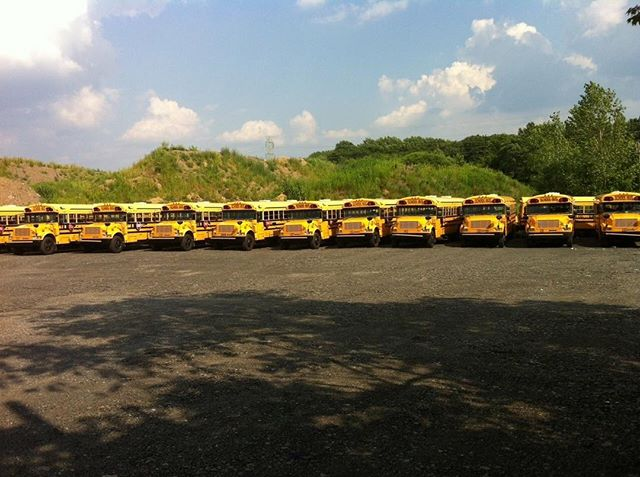 We have a fleet of approximately 40 School Buses, serving the Philadelphia and the surrounding area.