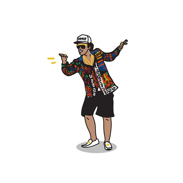24K Magic, the new song is from @brunomars When I listen his new song, the feeling is just like listening Uptown Funk 2.0 version. If he sing PPAP with his funk style, OMG, imagine that, whatever I wanna see