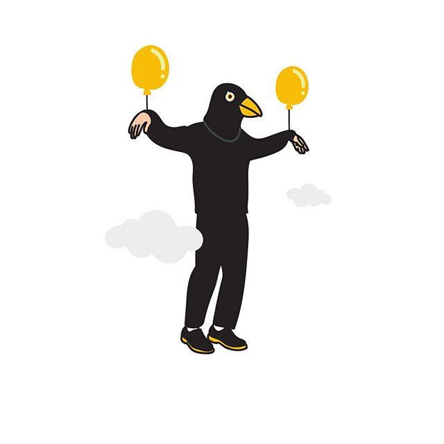 The crow man was taken away. . . .  #crows #illustration #illustrator #fashionillustration #daily #dailylook #yolk #planet #graphicdesign #graphicdesigner #design #torontoartist #Toronto #artoftheday  #sketch #talented #beautiful  #creativity #design  #bestoftheday #graphic