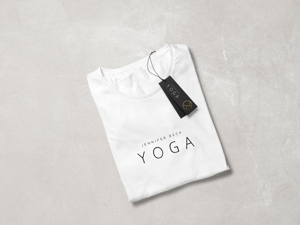 Yoga Branding and T-Shirt Design