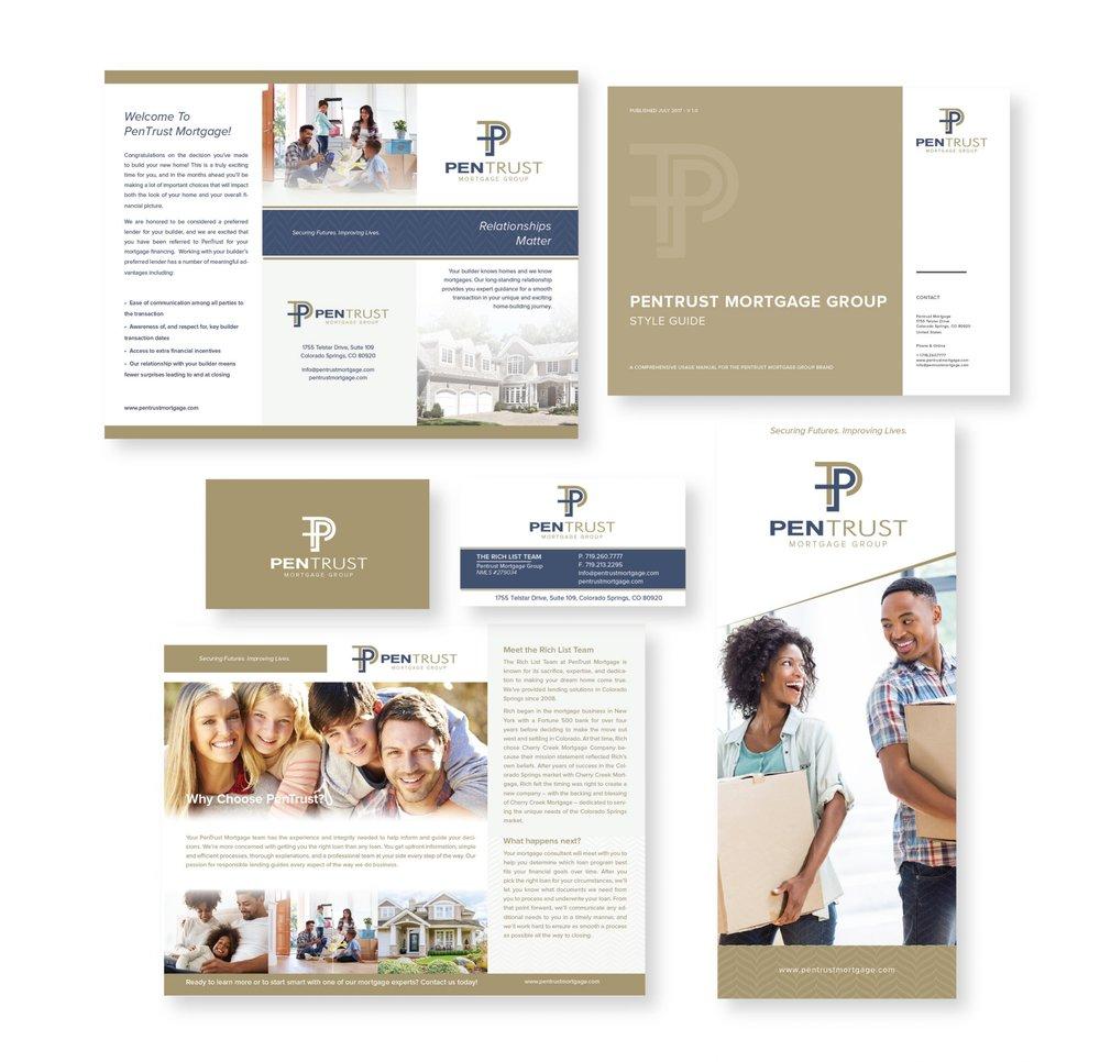 Pentrust Mortgage Branding Collateral