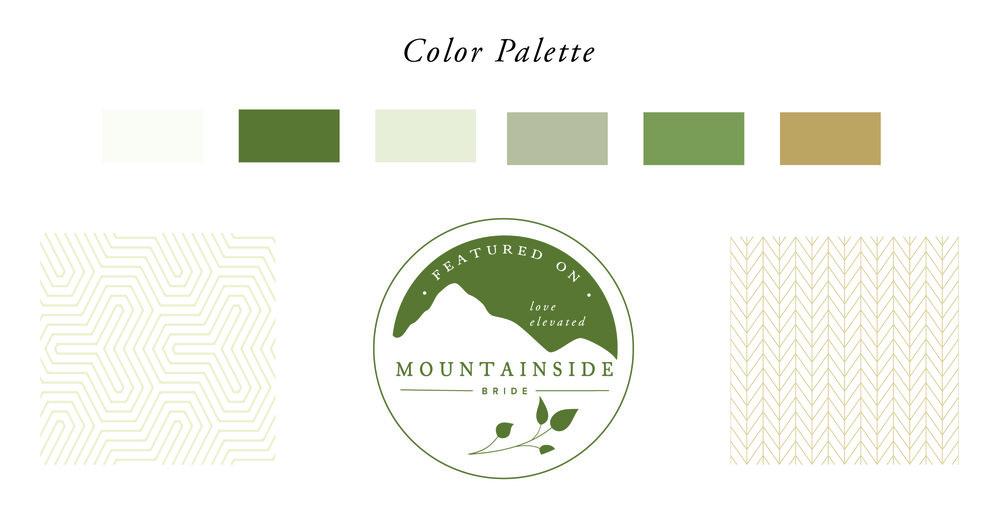 Bridal Blog Color Palette and Patterns