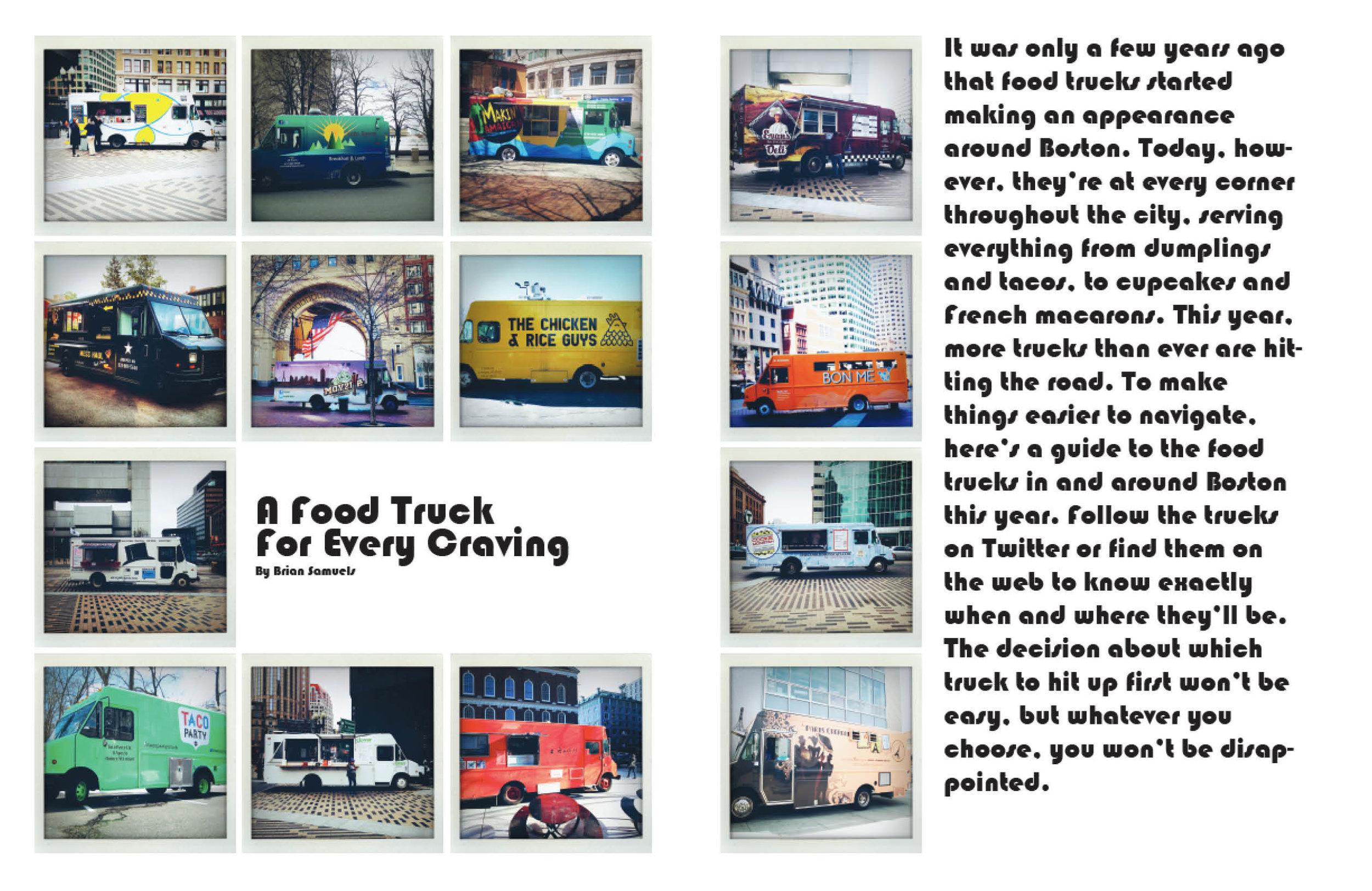 Food Trucks full spread