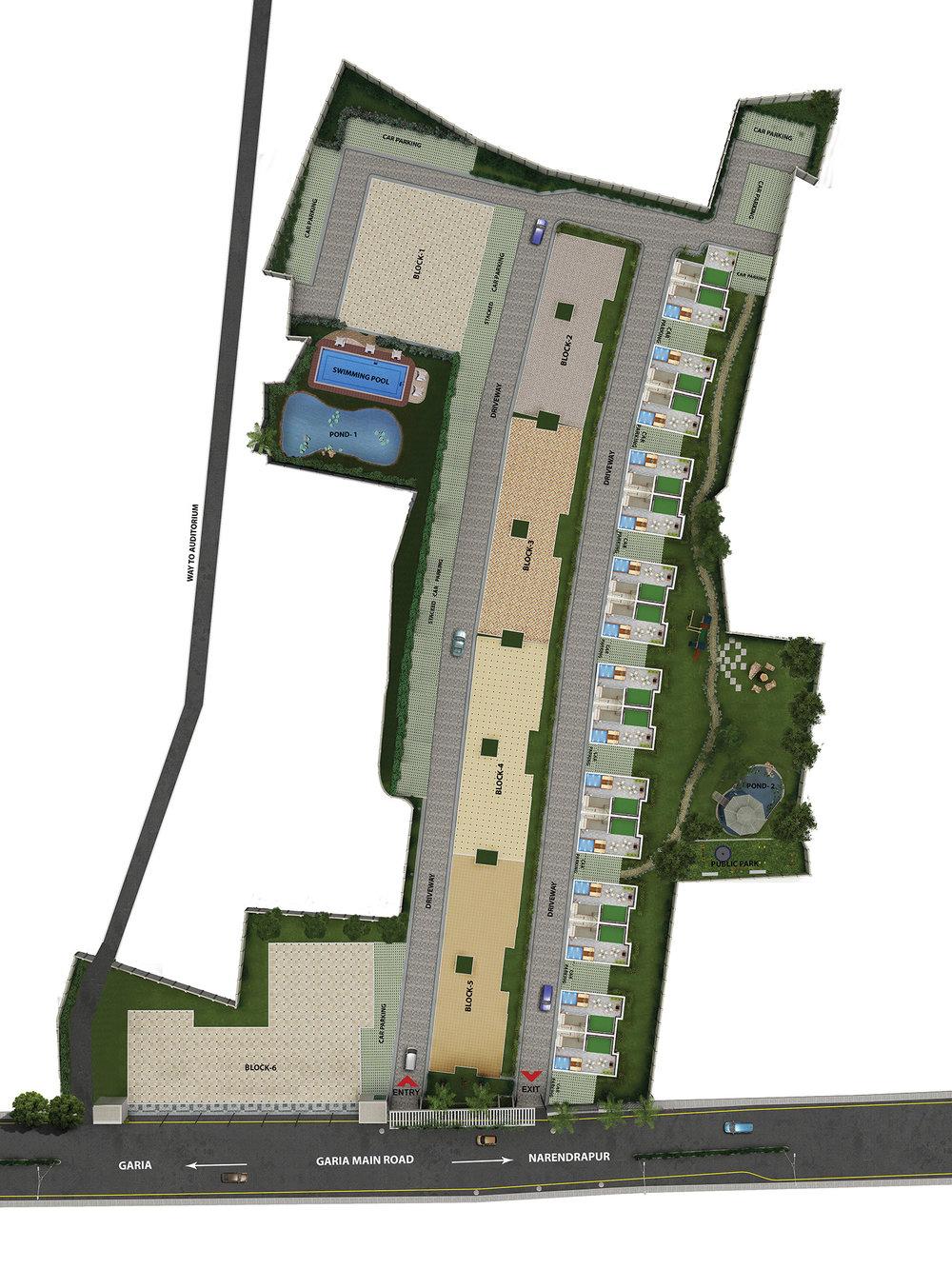 Sugam Sudhir Site Plan
