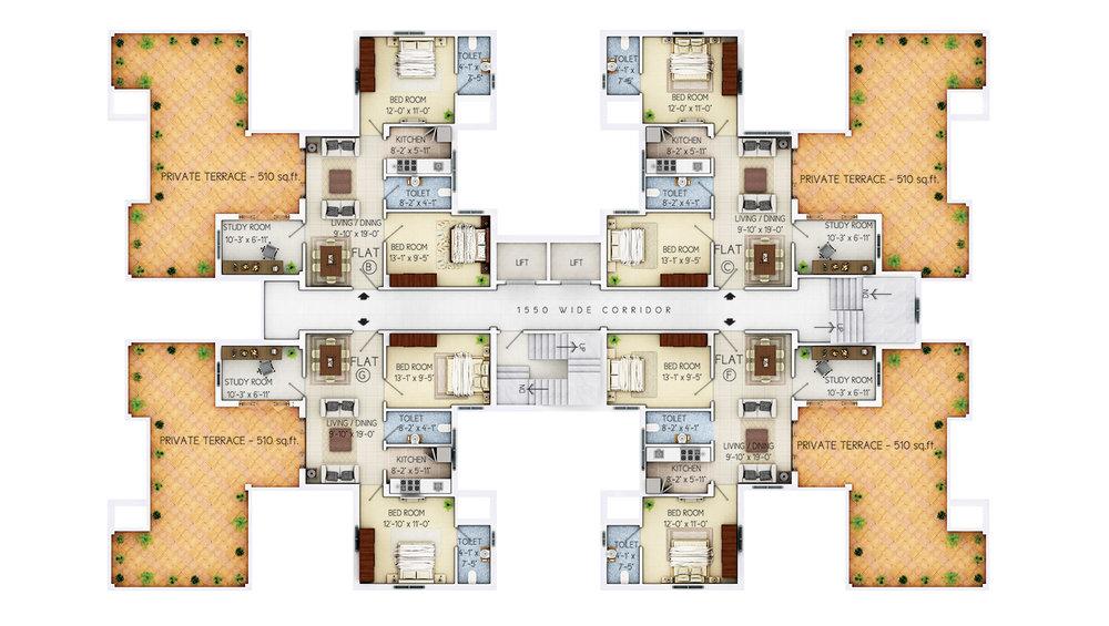 8th Floor - C5-C11