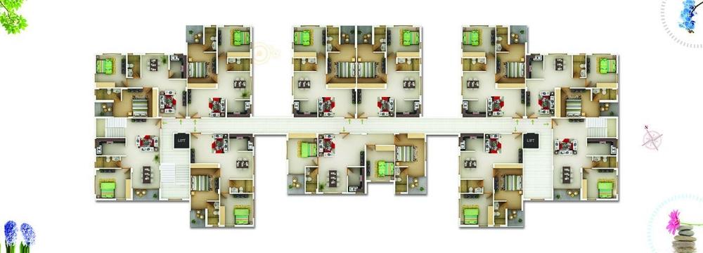 Block C 1st to 3rd floor