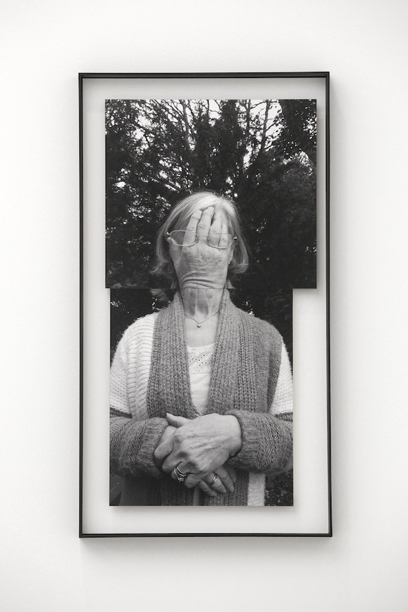 My Blood; Photomontage of my Mother with my Father's hand, 2017, 75 x 37.5cm, separately mounted c-type prints in tray frame.jpg