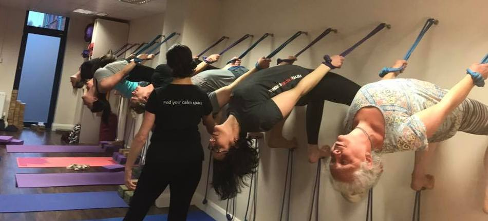 Ropes workshop at Derry Yoga & Pilates Studio with Claire Ferry
