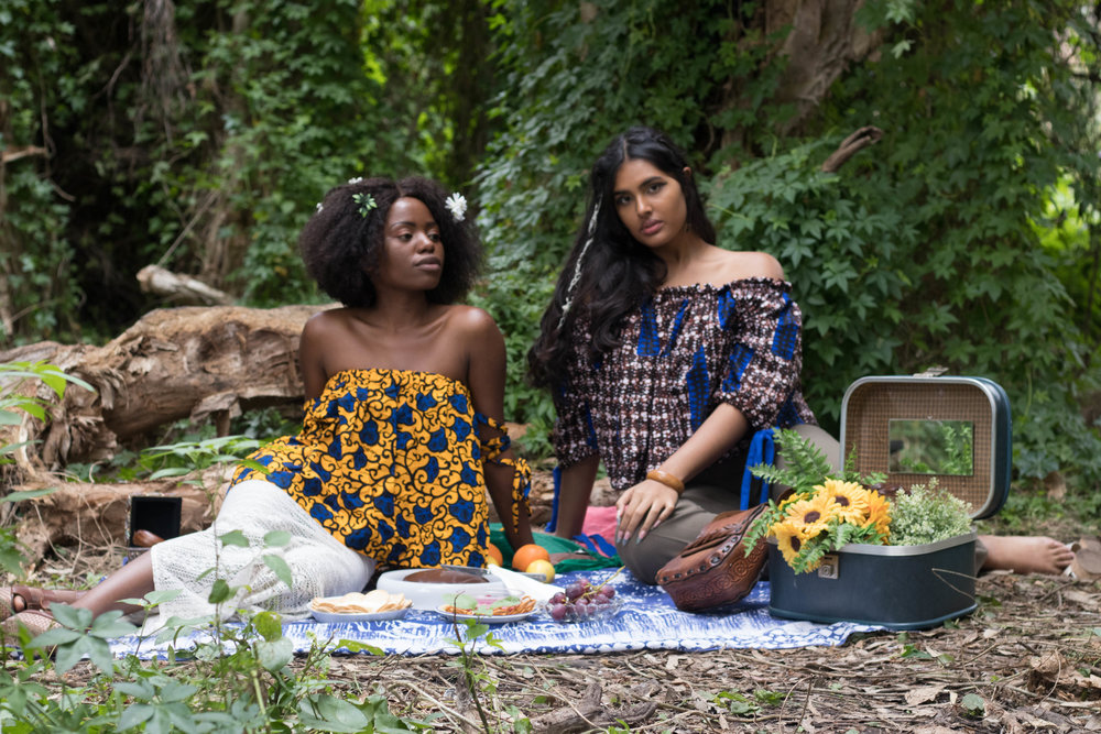 2 GIRLS + A PICNIC   Photographed by: @atnphotographynow