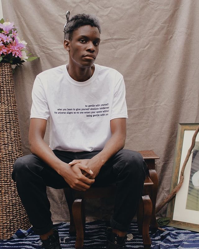 "| ""Be gentle with yourself."" 