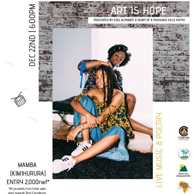 Remember how we create events alongside the African Student Union at UWA | @soul.alphabet | We are taking this event to KIGALI, RWANDA. A night that we will be celebrating African Creatives + Also giving back to an NGO that supports Vulnerable children in Rwanda (Root Foundation)! - - If you've got friends in Kigali, Spread the word for us 🙌🏿