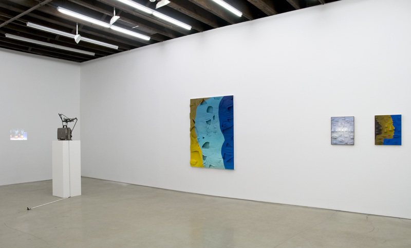 Installation View: WE PLAY AT PASTE, Anthea Hamilton, Tamara Henderson, Lucy Kim, Ella Kruglyanskaya, and Alan Reid
