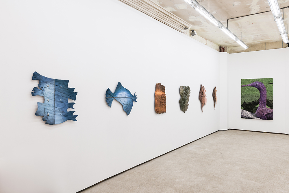 Installation view - STUBBORN DOUBLES, Galerie Pact, Paris