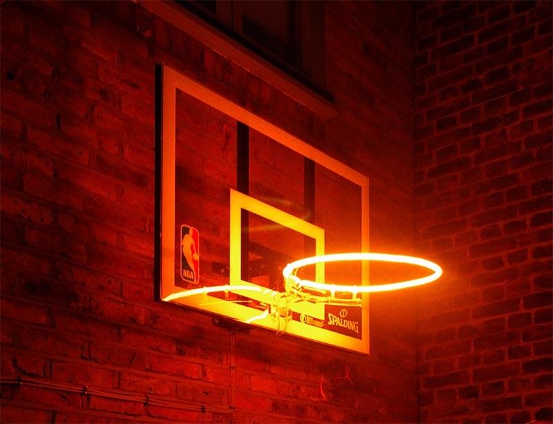 Neon hoop