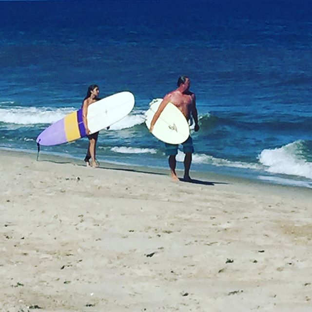 Chef Todd Ramsey taking a day off, giving surfing lessons. Thank you Todd!