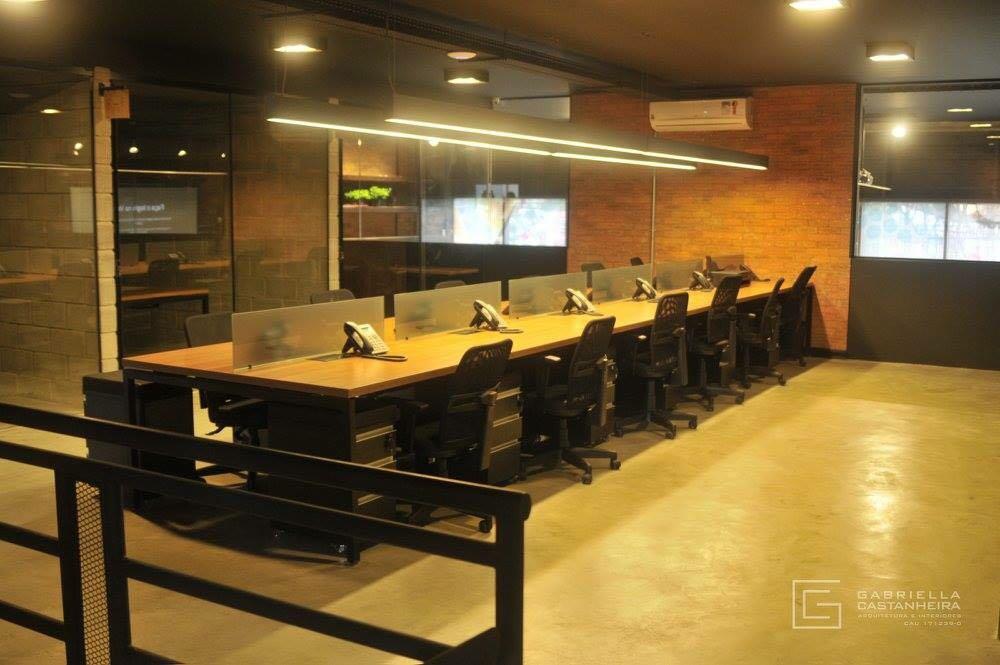 Estações de Trabalho e Salas dos Coworkers