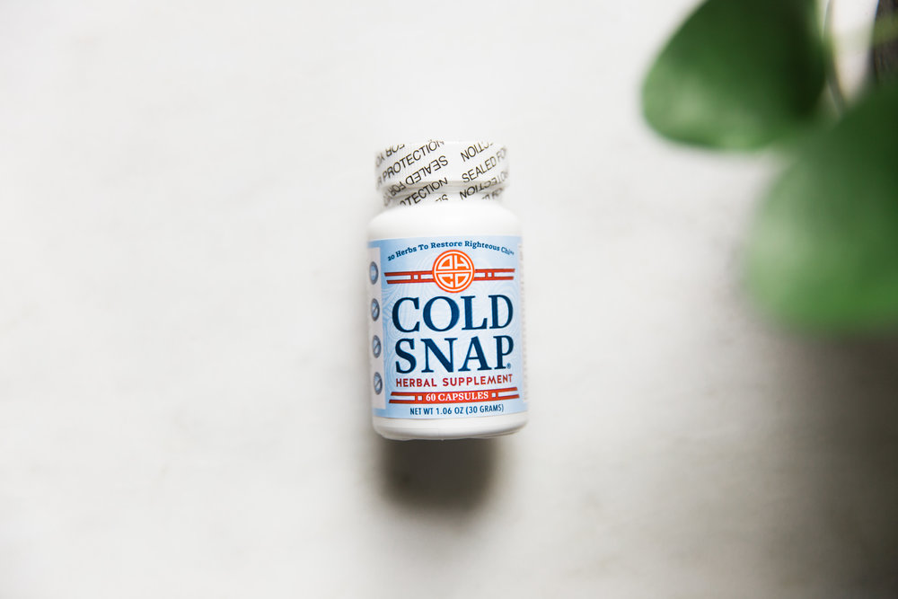 Cold Snap, $18  OHCO's Cold Snap is the best medicine for a cold by supporting deep immune function and rapid response.