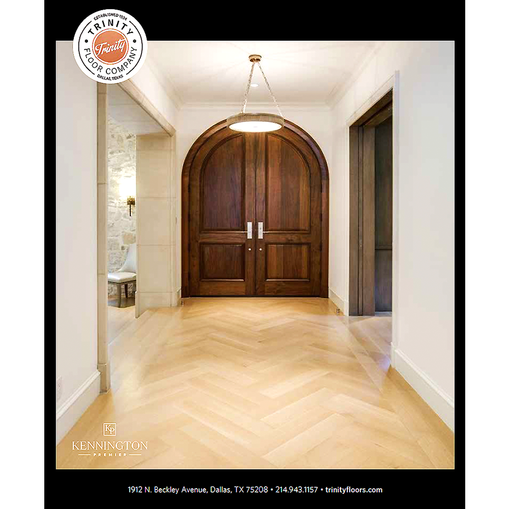 MODERN LUXURY DALLAS MAGAZINE  • JULY 2017  KENNINGTON PREMIER AND TRINITY FLOOR COMPANY AD   >> LEARN MORE ABOUT   TRINITY FLOOR COMPANY