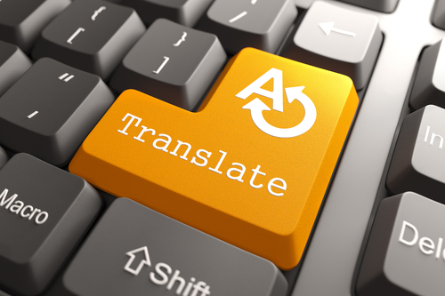 Orange-Translate-Button
