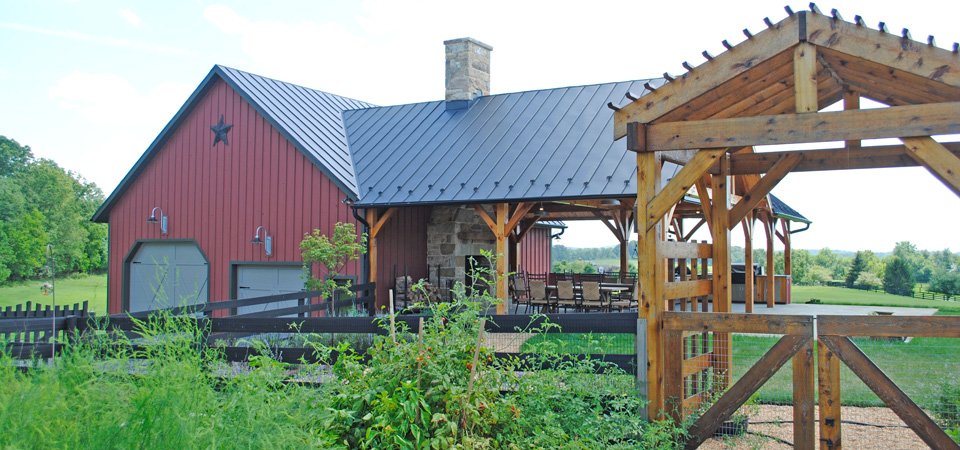 Timber Framed Pole Barn 5