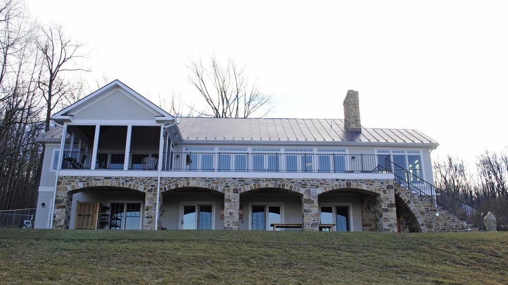 bluemont custom home 8