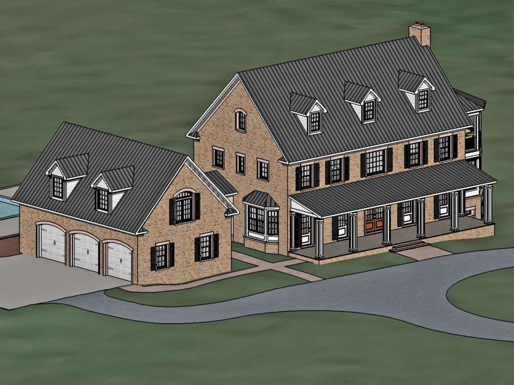 Custom Home, Shenandoah County VA 1