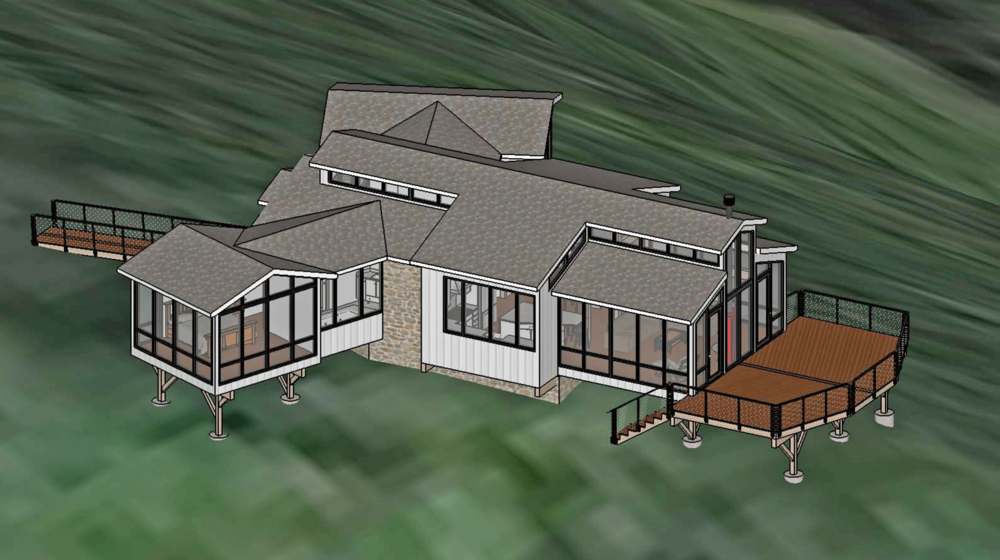 On the Boards - West Virginia Custom Home