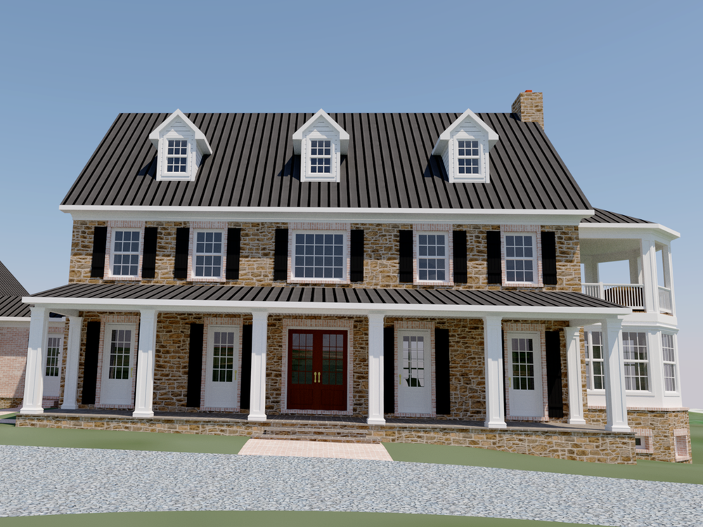 custom home shenandoah county