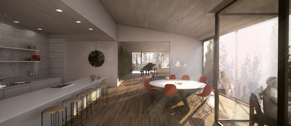 Rendering by Saunders Architecture