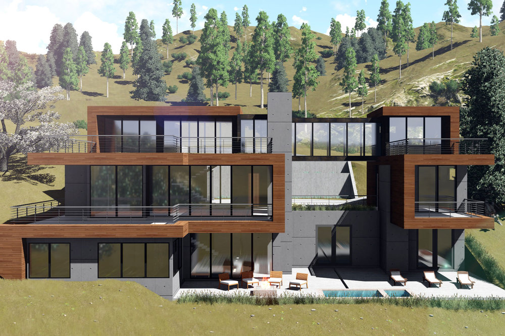 Rendering by Upwall