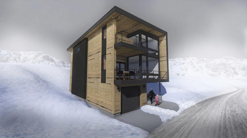 Rendering by Bertoldi Architects
