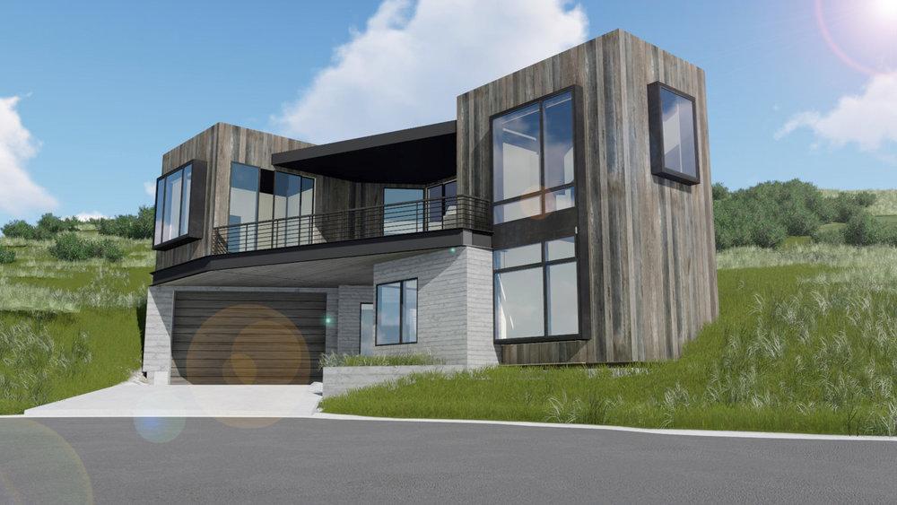 Upwall Design Architects & Big Canyon Homes