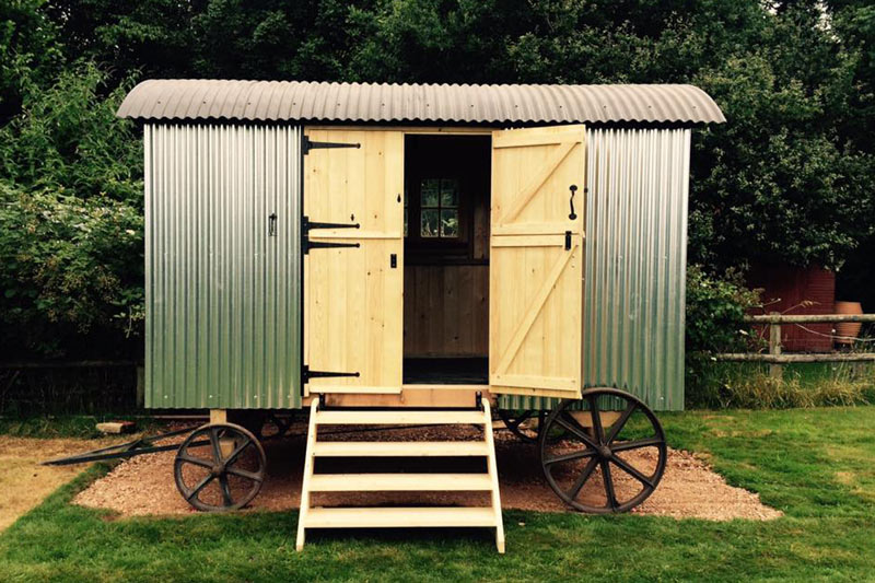 New build Shepherds Hut