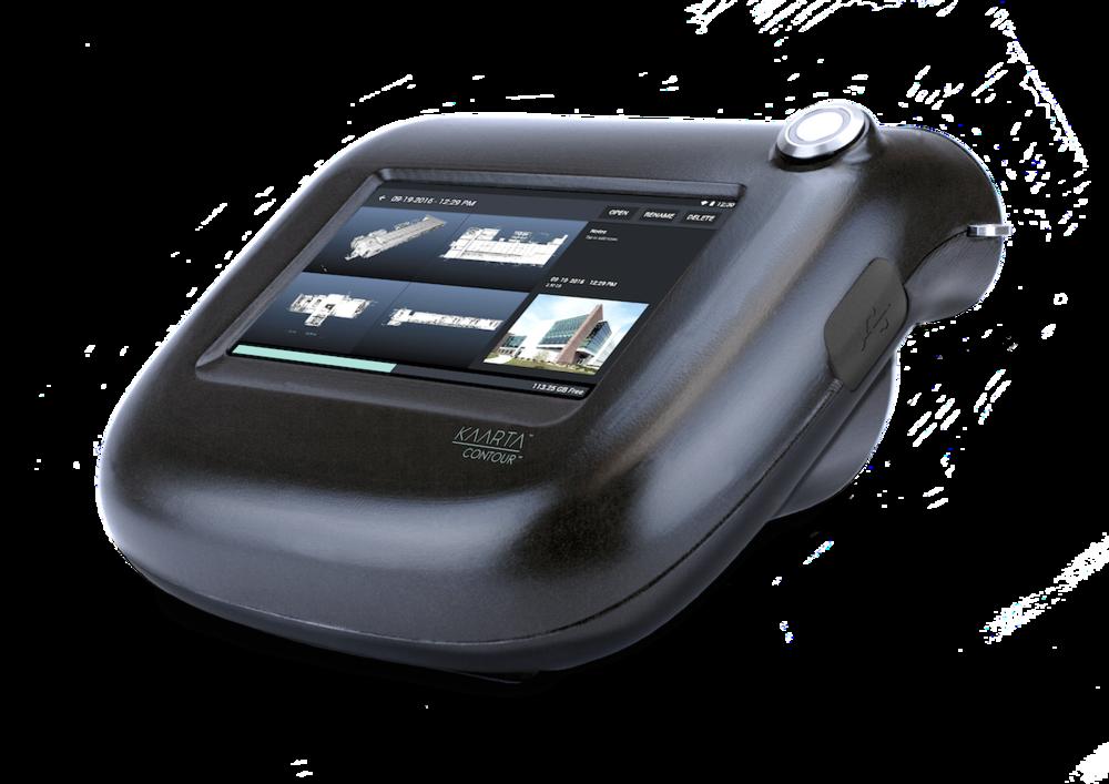Kaarta Contour touchscreen