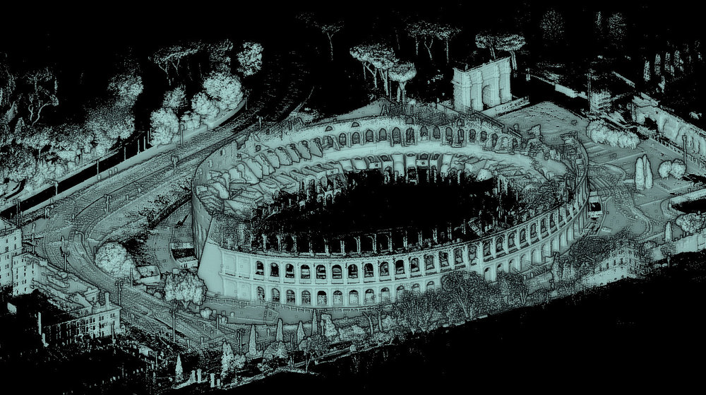 When in Rome....take a stroll once around the Colosseum with Stencil.