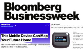 Bloomberg Businessweek This Mobile Device Can Map Your Future Home.