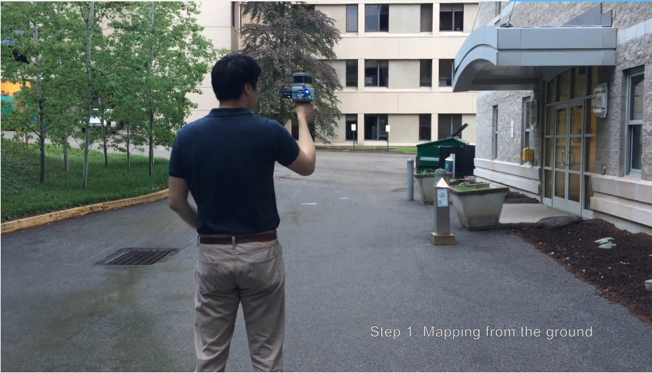 Step 1: Handheld mapping from the ground with Kaarta Stencil