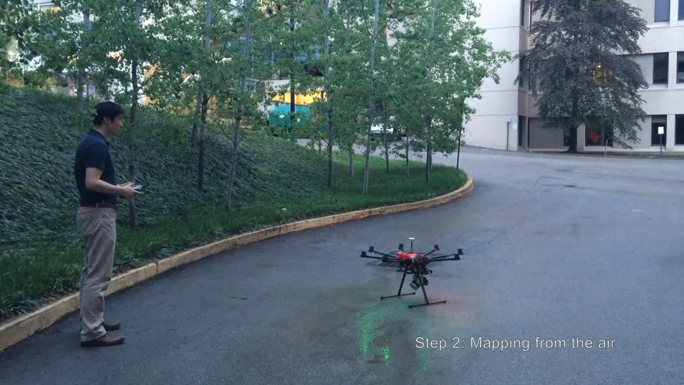 Step 2: Drone-mounted mapping from the air with Kaarta Stencil